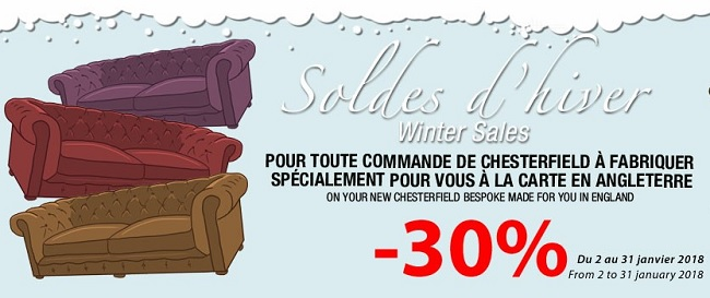 fauteuil chesterfield promotion