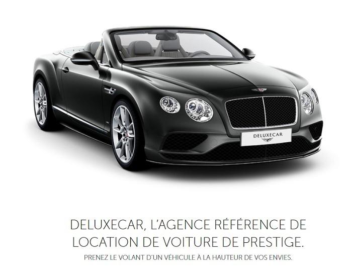 location voiture de prestige paris