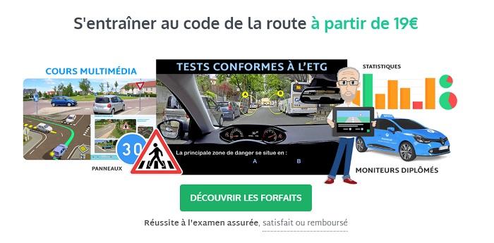 apprendre le code de la route pas cher